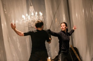 Hamlet Foto Fechszene