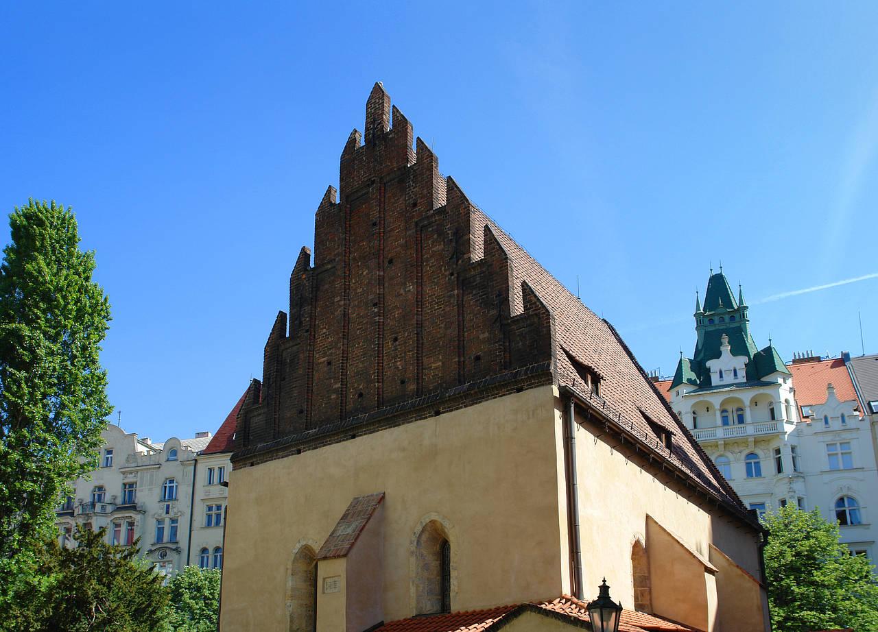 Prag: Die alt-neu Synagoge